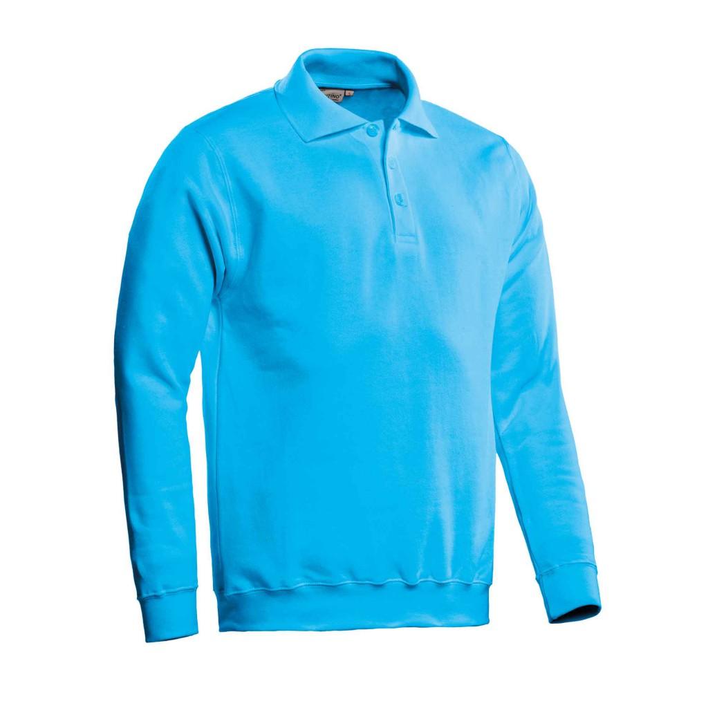 SANTINO Polosweater Robin Aqua