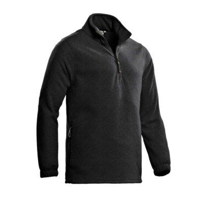 SANTINO Fleece Sweater Serfaus Antraciet
