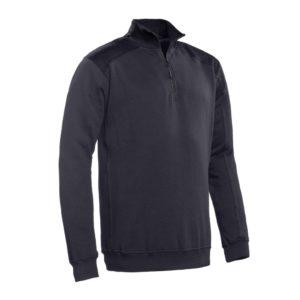 SANTINO Zipsweater Tokyo Graphite / Zwart