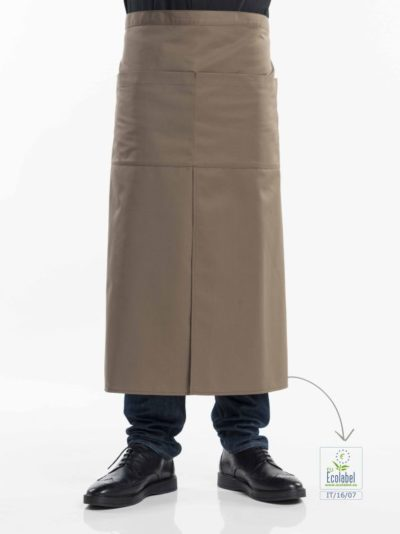 Chaud Devant 4-Pockets Taupe - Sloven