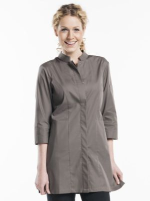 Chaud Devant Women Stone Stretch 3/4 Sleeve - Serveerjassen