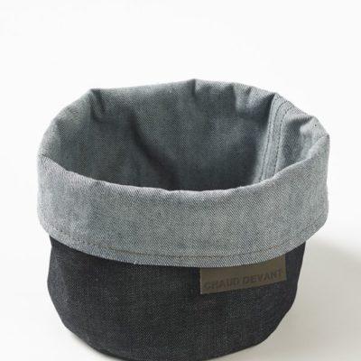 Chaud Devant Bread Basket Blue Denim - Horeca accessoires