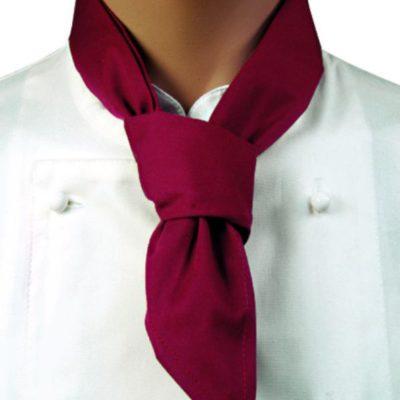Chaud Devant Neckerchief Burgundy - Horeca accessoires