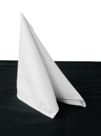 Chaud Devant Napkin Santino White (6pcs) - Horeca accessoires