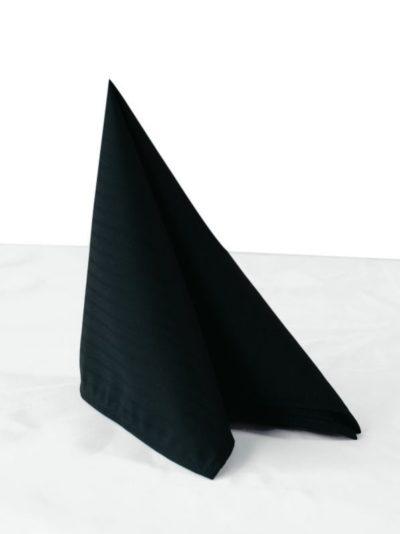Chaud Devant Napkin Santino Black (6pcs) - Horeca accessoires