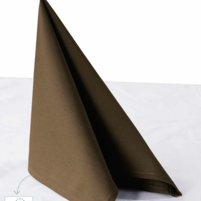 Chaud Devant Napkin Taupe (6pcs) - Horeca accessoires