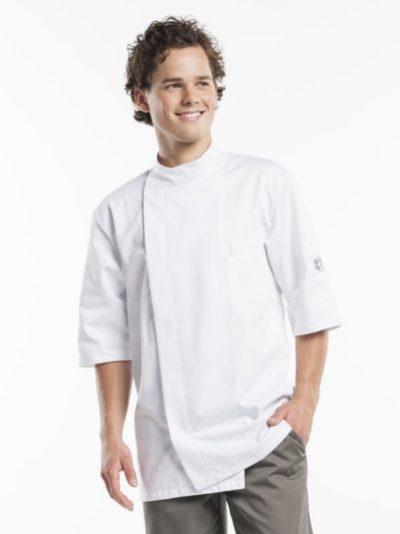 Chaud Devant Bacio White Short Sleeve - Koksbuizen